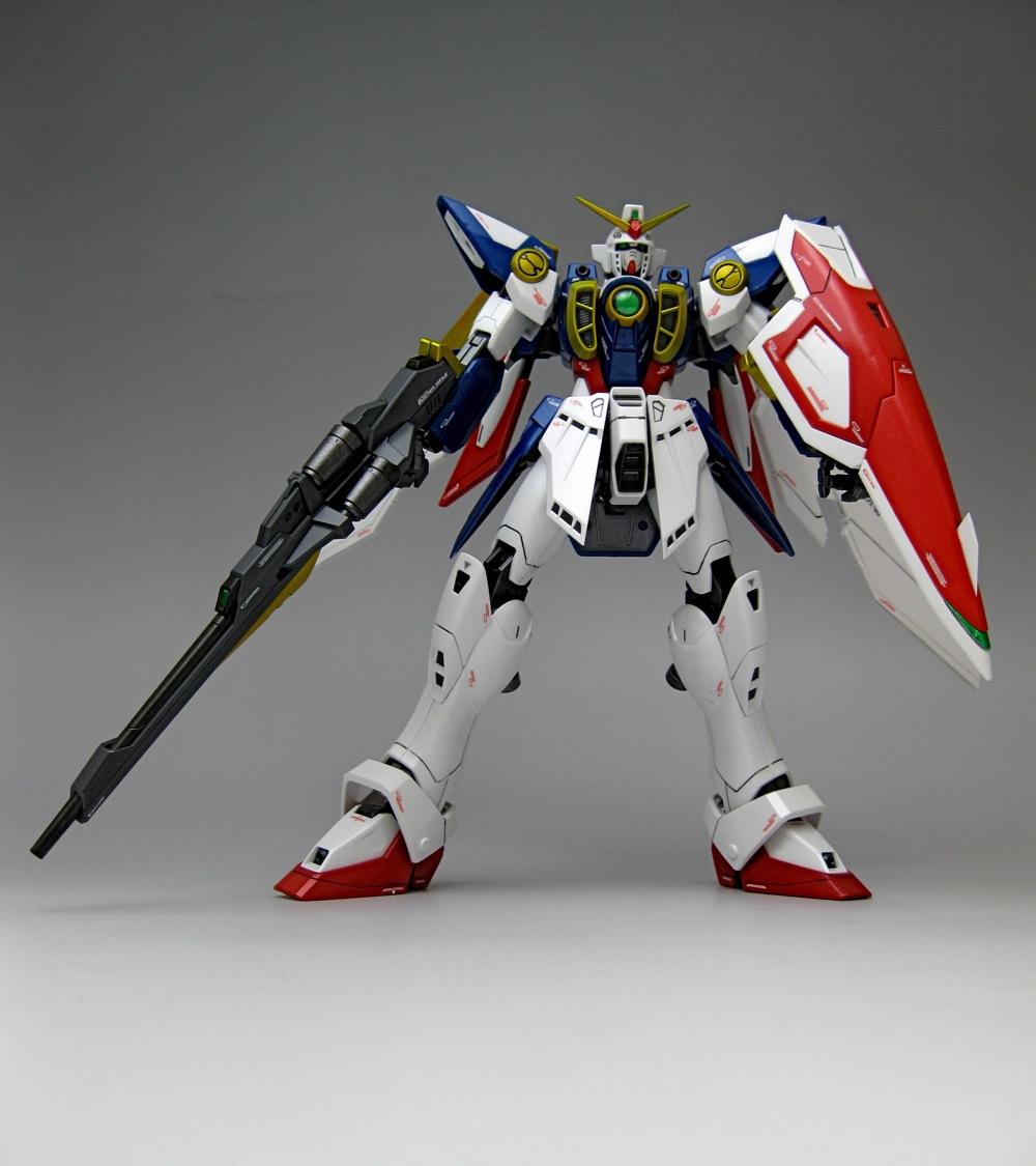 MG Wing Gundam   Saint-ism - Gaming, Gunpla, Digital Art