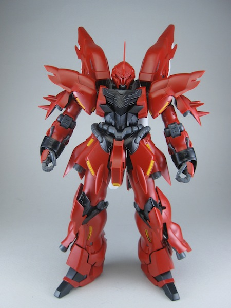 MG Sinanju OVA Review – 94.3% : Gaijin Gunpla