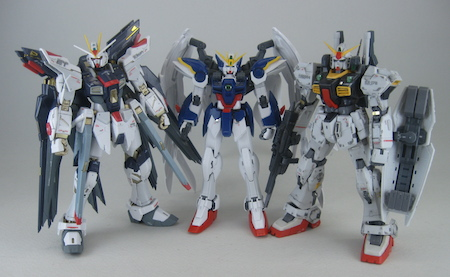 gundam unicorn vs wing zero
