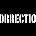 correction banner